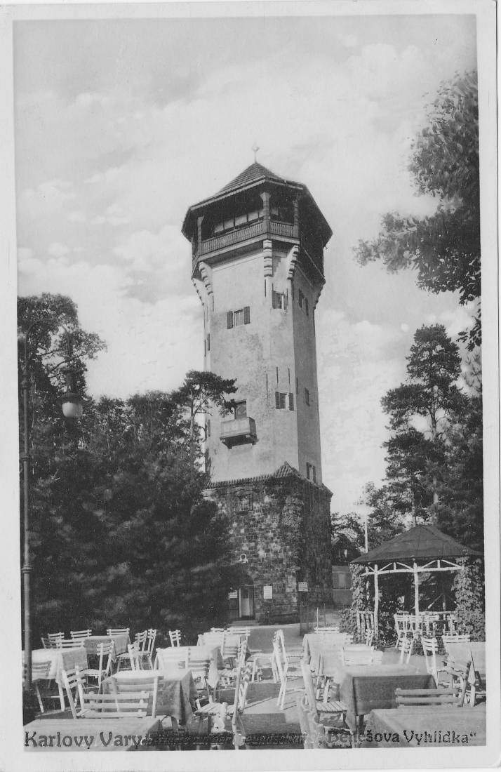 Historical Photo of the Diana Observation Tower