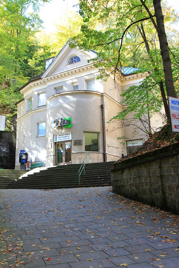 Lanovka Diana Karlovy Vary