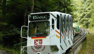 Lanovka - Diana Karlovy Vary
