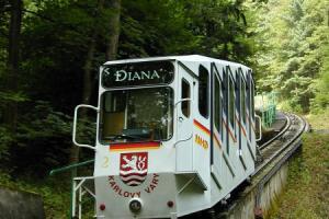 Lanovka Diana (zdroj: dpkv.cz)